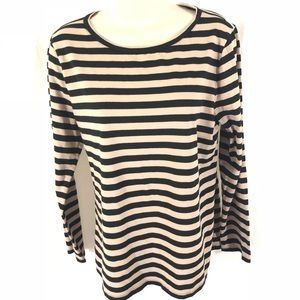 Ann Taylor Long Sleeve Soft Stretchy Top Large